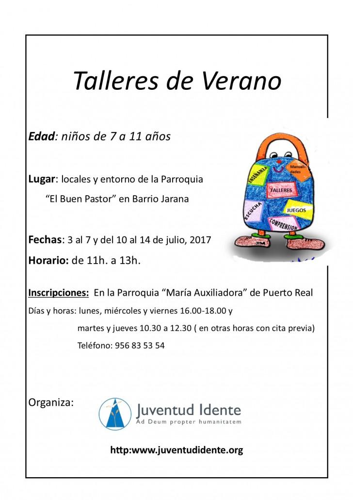 Difusión Talleres verano Cádiz